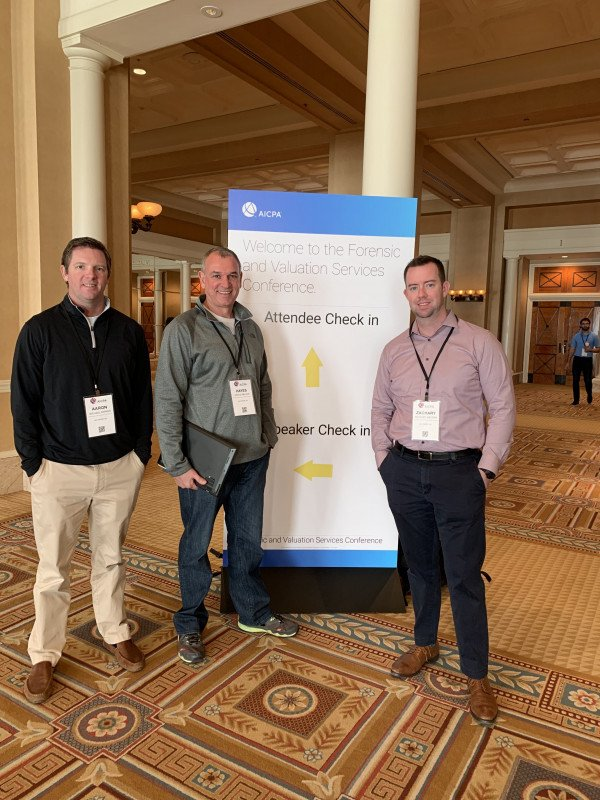 Rollins Attends 2019 AICPA Forensic & Valuation Services Conference in Las Vegas